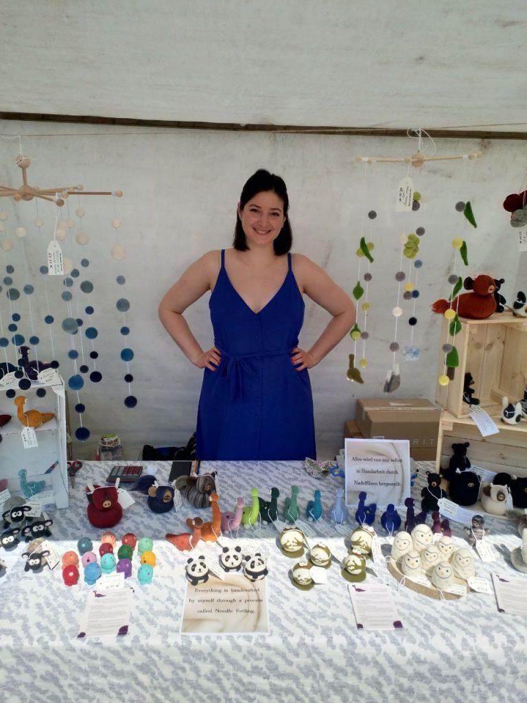 My Woolen Friends @ WeddingMarkt craft fair, Berlin